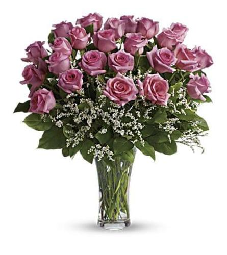 Pink Roses Arranged Grand