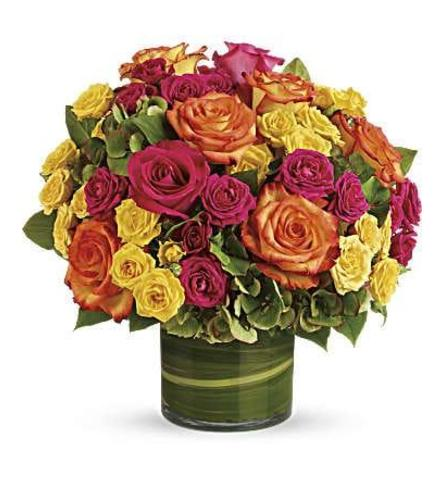 Colorful Roses Pave