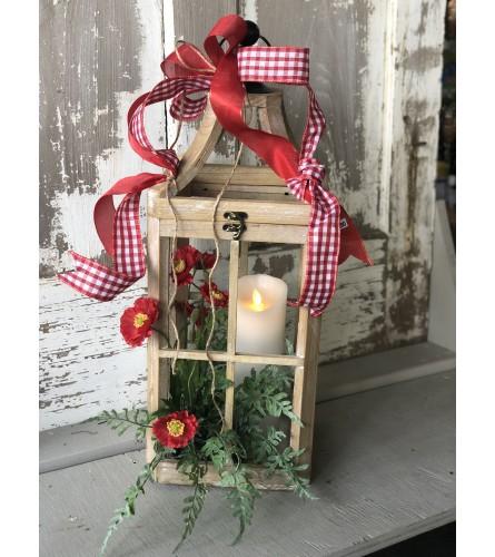 Red Poppy Lantern