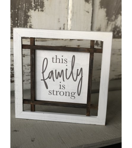 Farmhouse Frame - Family