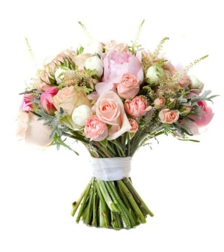 Bouquet Of Pastel Love