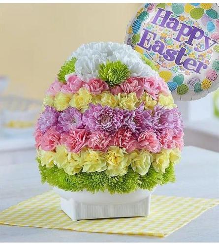 Easter Floral Egg