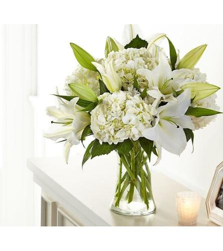 Pure White Elegance Vase