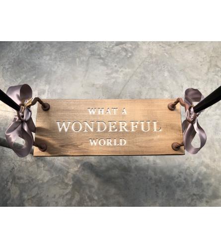 Wonderful World Swing