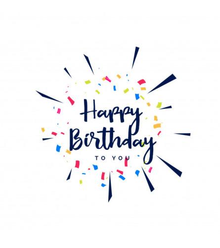 Florist Design - Birthday