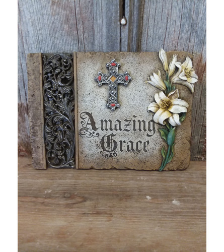 Plaque 'Amazing Grace'