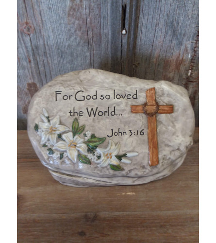Statue 'For God so Loved'