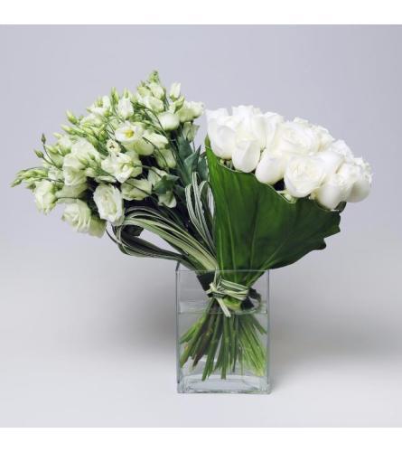 Contemporary White Glamour