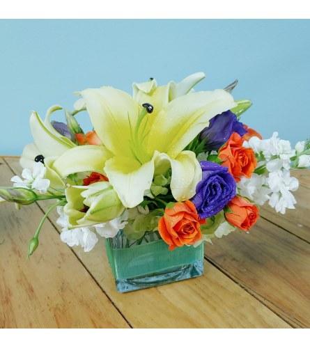 Faith floral arrangement
