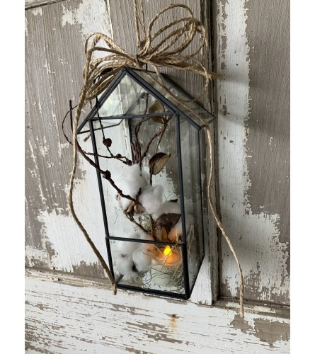 Farmhouse Cotton Lantern