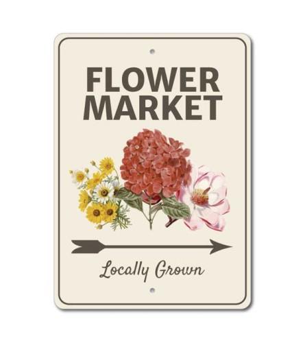 Flower Market Locally Grown