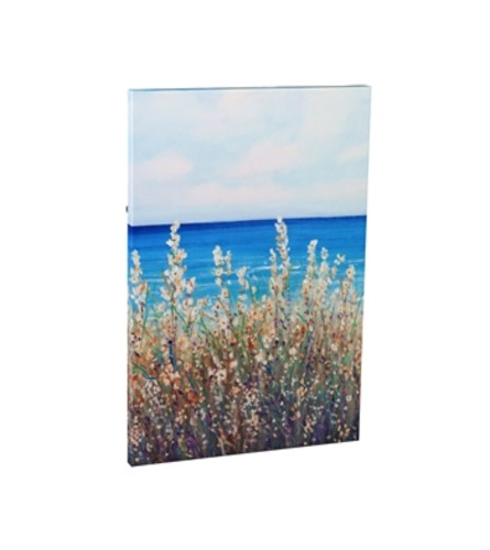 Flowers at the Coast Outdoor Canvas