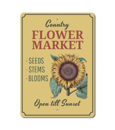 Sunflower Country Market Sign