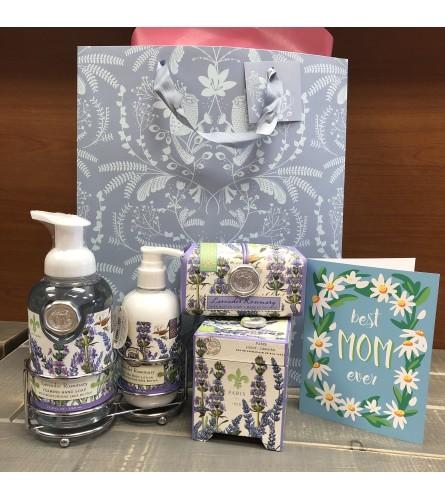 Lavender Rosemary Michel Design Gift Pack