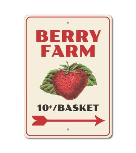Berry Farm 10 cents a Basket