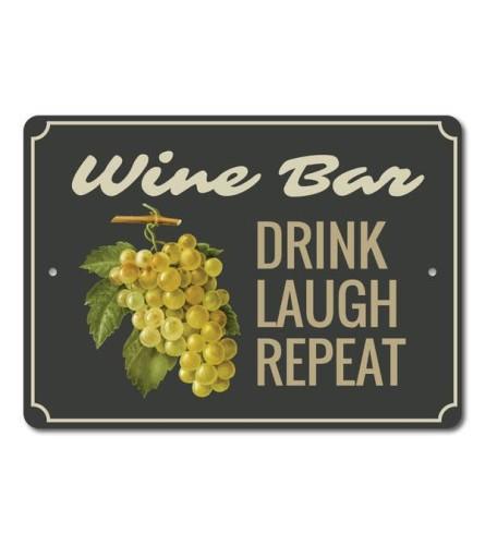 Wine Phrase Sign