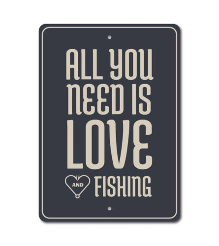 Fishing Lover Sign
