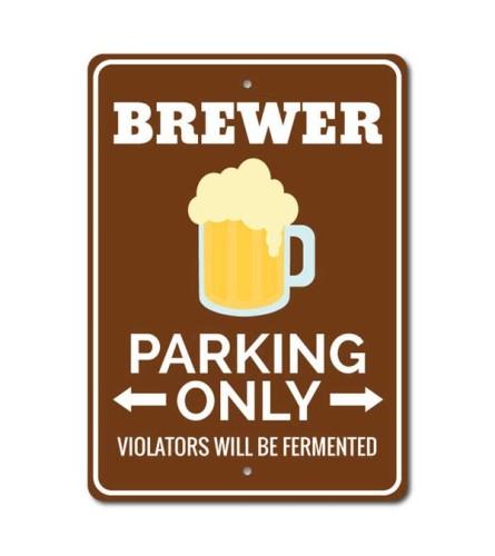 Brewer Parking Sign