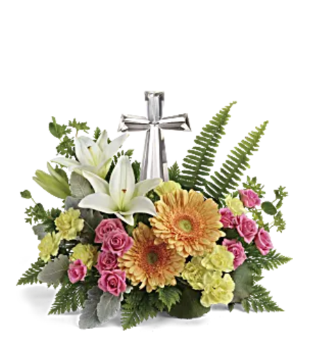 Pastel Crystal Cross