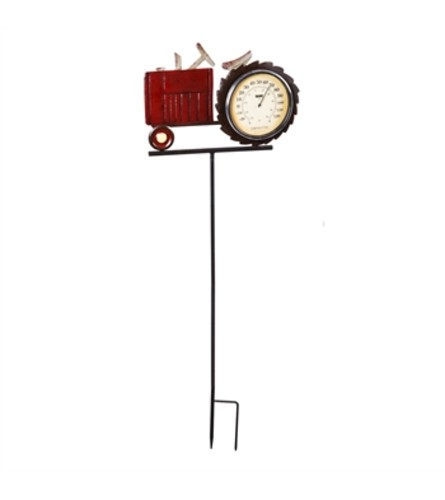 Thermometer Stake /Tractor