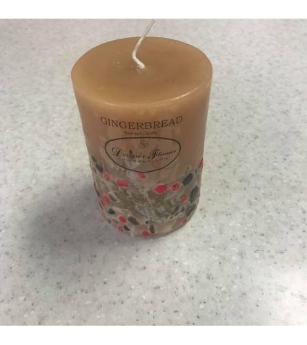 Gingerbread Candle - Individual or as a Set