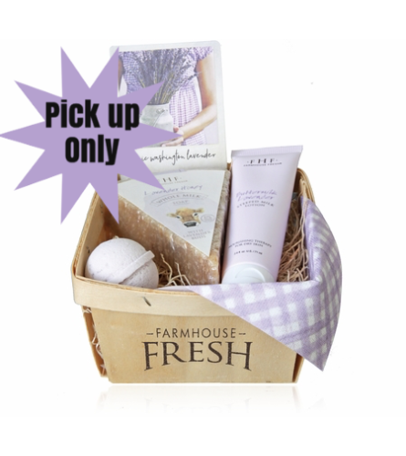 Farmhouse Fresh-Lavender Harvest Basket