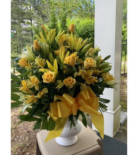 Condolences in Yellow