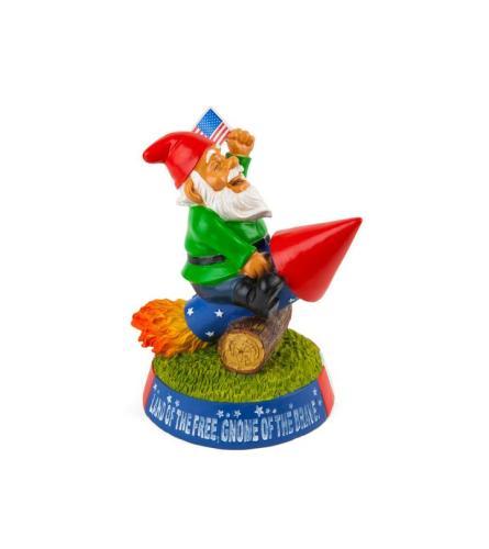 Stars n Stripes Garden Gnome