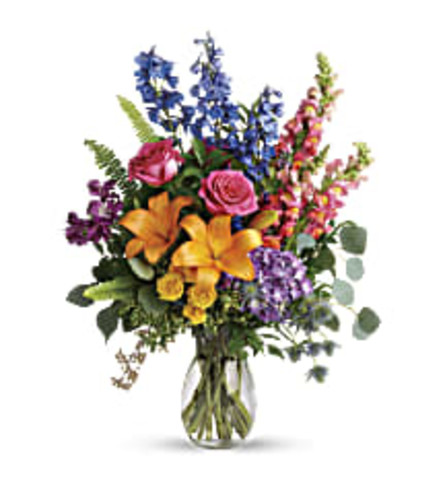 Teleflora's Color of the Rainbow Bouquet