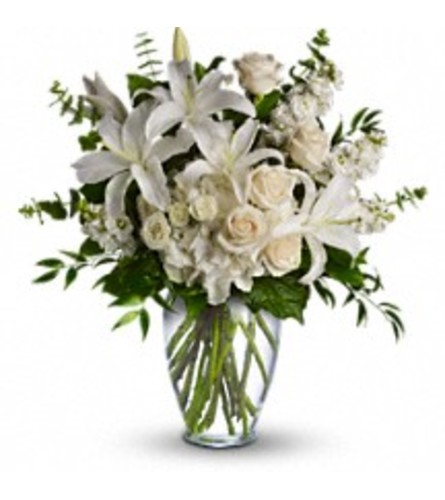 Teleflora's Dreams from the Heart Bouquet (with lilies)