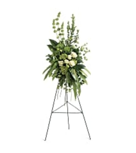 Teleflora's Forever at Peace Spray