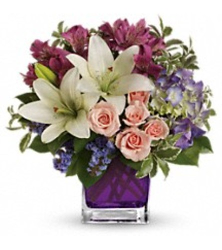 Teleflora's Garden Romance (with lilies)