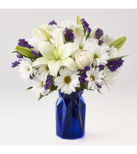 Ftd's Beyond Blue Bouquet