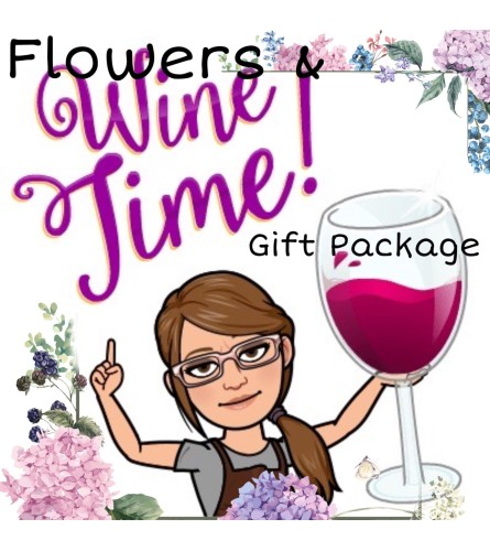 Mother's Day Wine Time Bouquet