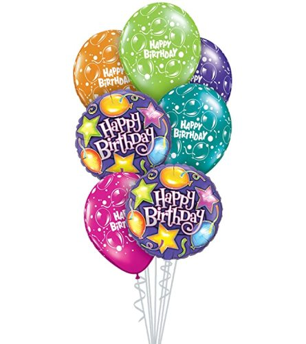 Birthday Party Balloon Bouquet