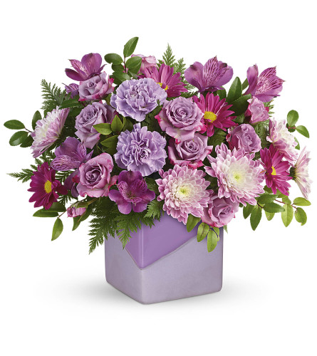 Teleflora Shades of Lavender