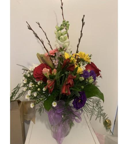 All occasion vase arrangement