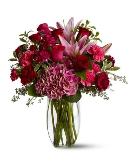 Burgundy Blush Mother's Day Bouquet