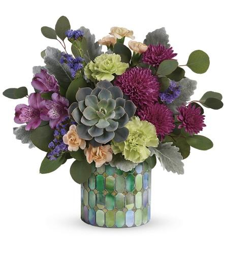 mosaic blooms