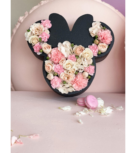 Mini Mouse Boxed Flowers