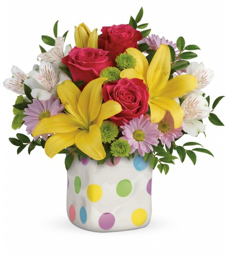 The Delightful Dots Bouquet