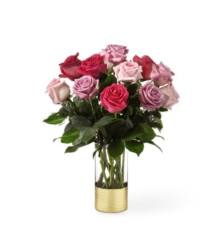MF Assorted Dozen Roses