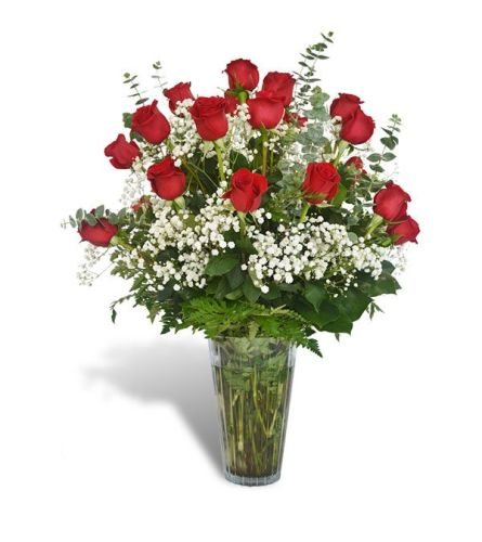 2 Dozen Red Roses DW