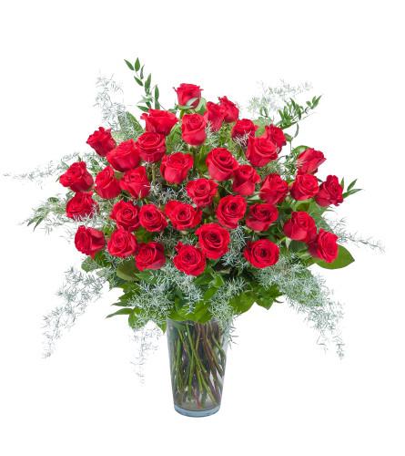 3 Dozen Red Roses DW