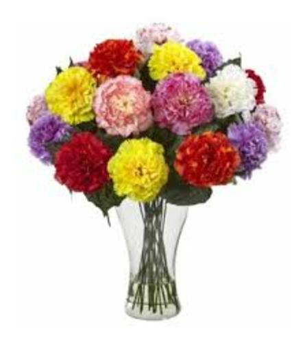 Carnations in a Vase