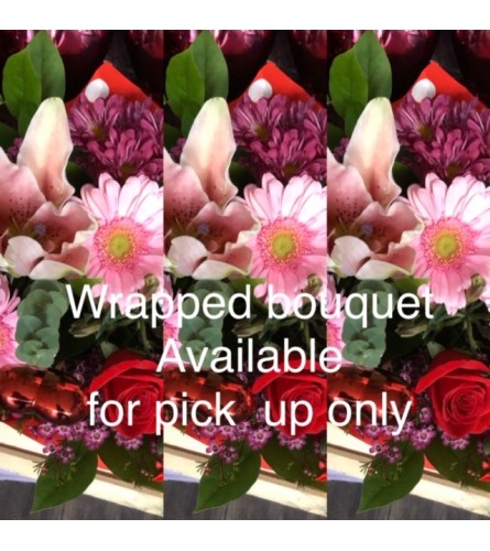 Wrapped Bouquet FOR PICK UP ONLY