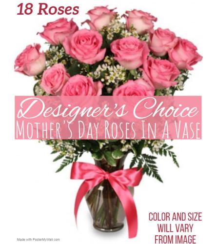 Roses For Mom Florist Design