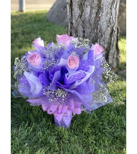1/2 HK lavender rose