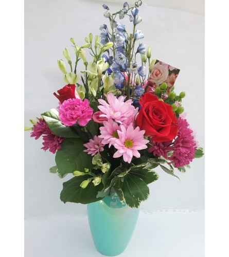 TF Mixed Vase