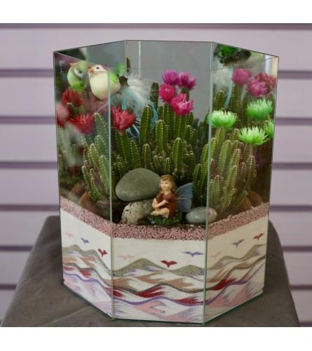 Cactus Paradise Dish Garden